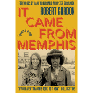 "Robert Gordon ""It Came From Memphis"" Book"