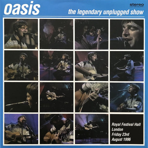 "Oasis ""The Legendary Unplugged Show"" LP"