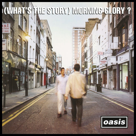 "Oasis ""(What's the Story) Morning Glory?"" 2xLP (Silver Vinyl)"