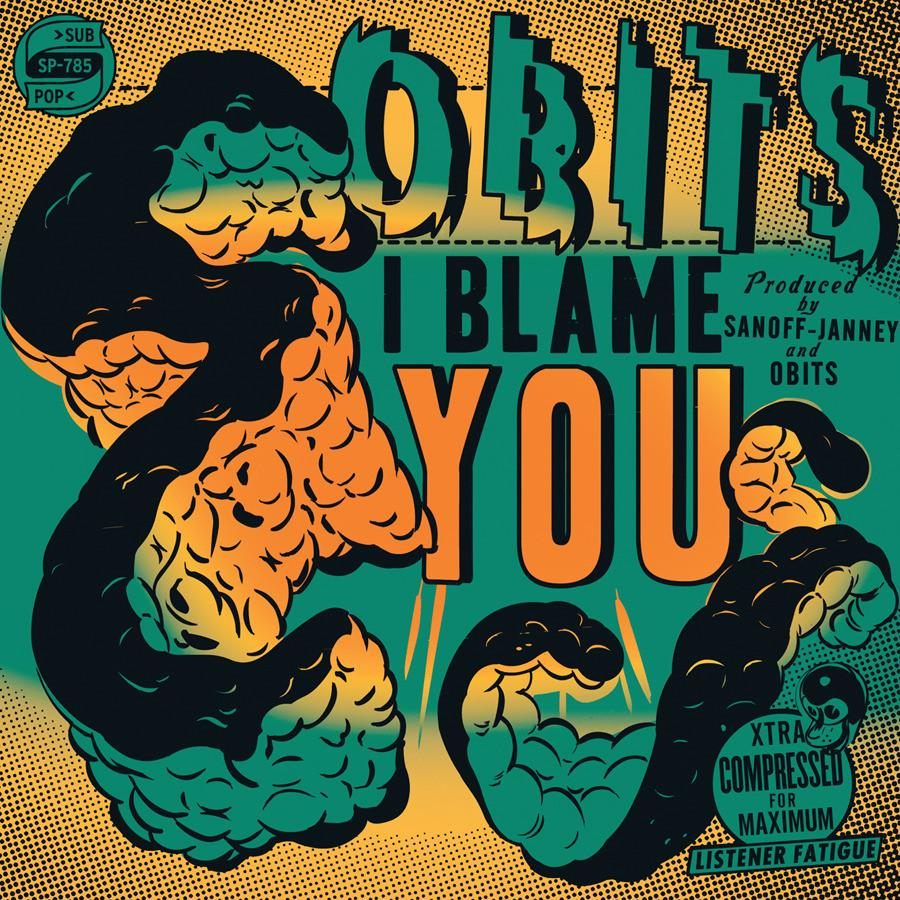 "Obits ""I Blame You"" LP"