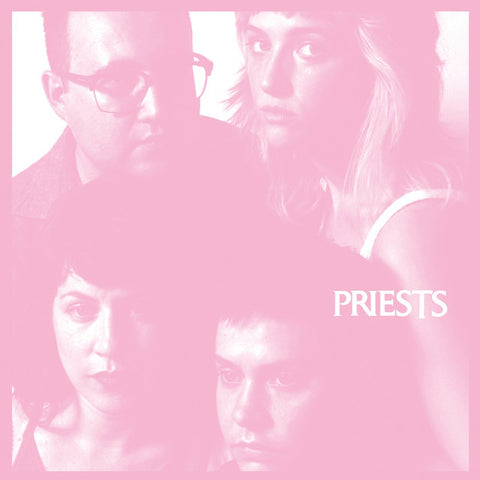 "Priests ""Nothing Feels Natural"" LP"