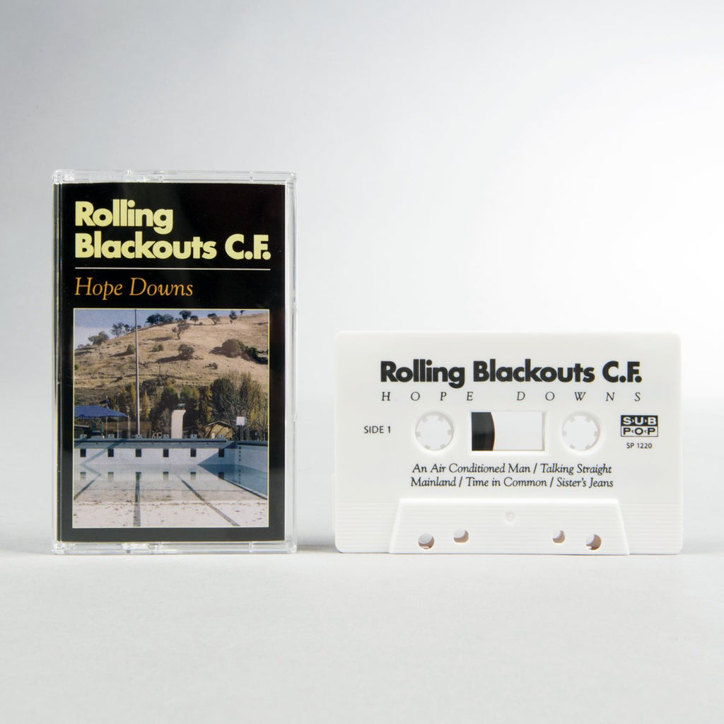 "Rolling Blackouts Coastal Fever ""Hope Downs"" Tape"