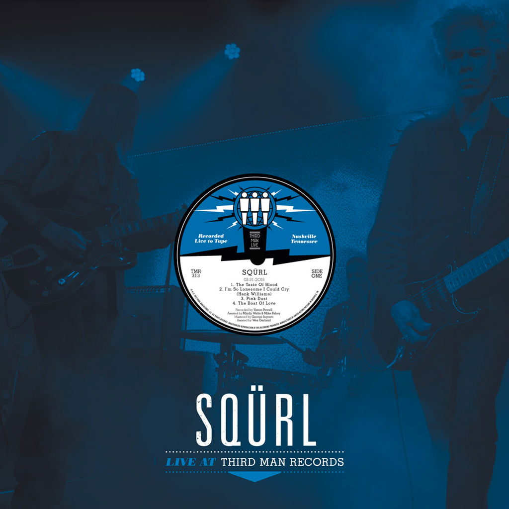 "SQÜRL ""Live at Third Man Records"" LP"