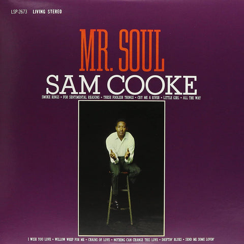 "Sam Cooke ""Mr. Soul"" LP (Purple Vinyl)"