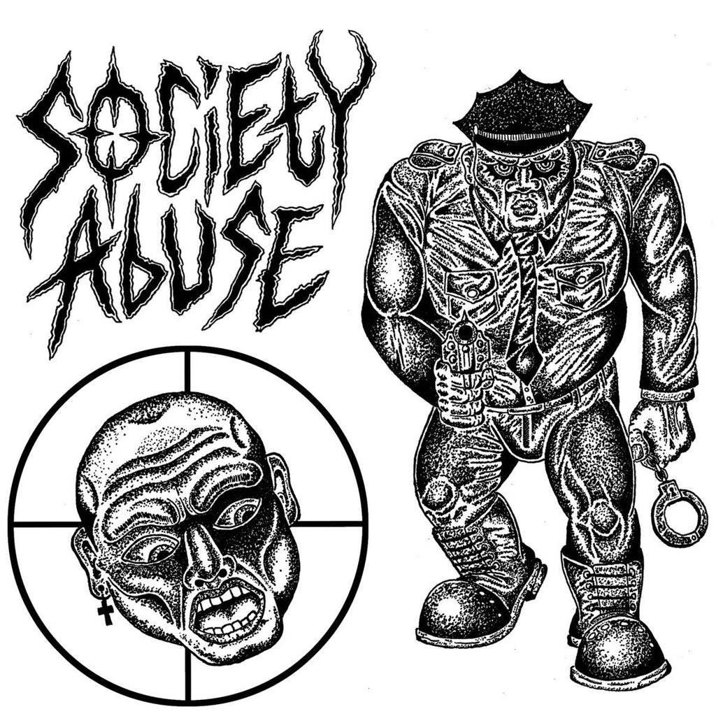 "Society Abuse ""s/t"" 7"""
