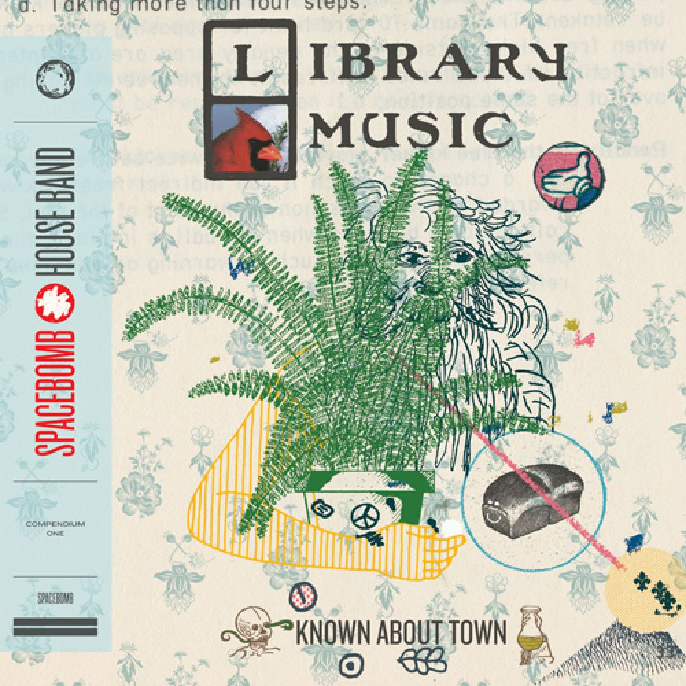 "Spacebomb House Band ""Known About Town: Library Music Compendium One"" LP"