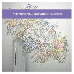 "The National ""High Violet (Expanded Edition)"" 3xLP (Purple Marble Vinyl)"