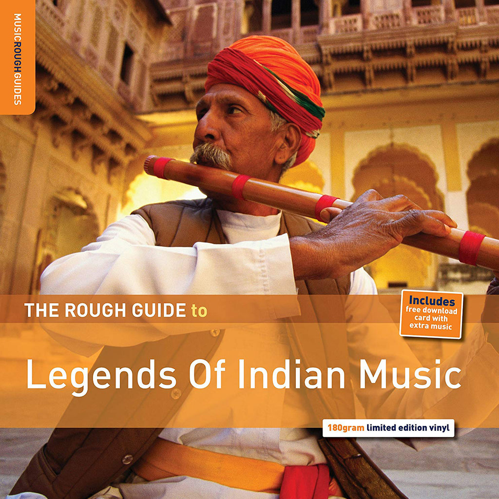 "Various Artists ""The Rough Guide to Legends of Indian Music"" LP"