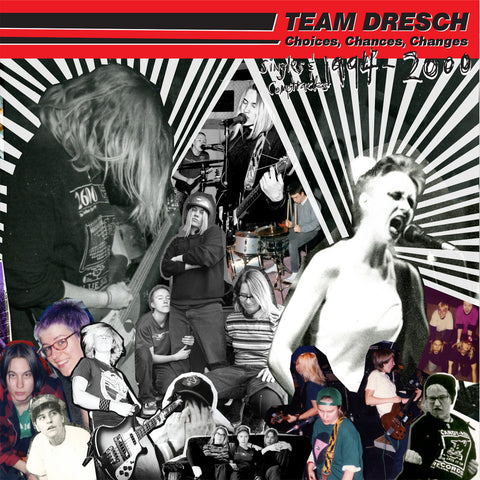 "Team Dresch ""Choices, Chances, Changes"" LP (Pink Vinyl)"