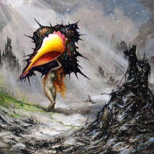 "Circa Survive ""Amulet (Deluxe Edition)"" LP+7"" (Blue-In-Clear + Splatter Vinyl)"