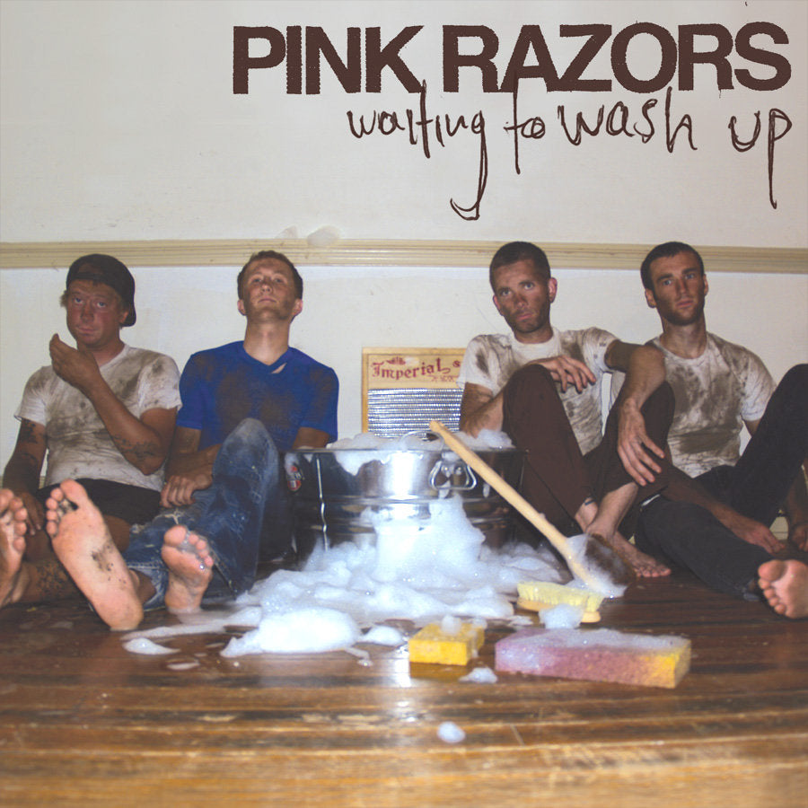 "Pink Razors ""Waiting to Wash Up"" LP"