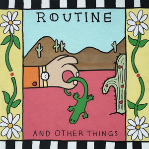 "Routine ""And Other Things"" 12"" (Coke Bottle Clear Vinyl)"