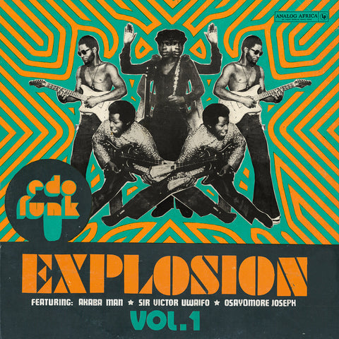 "Various Artists ""Edo Funk Explosion: Volume 1"" 2xLP"