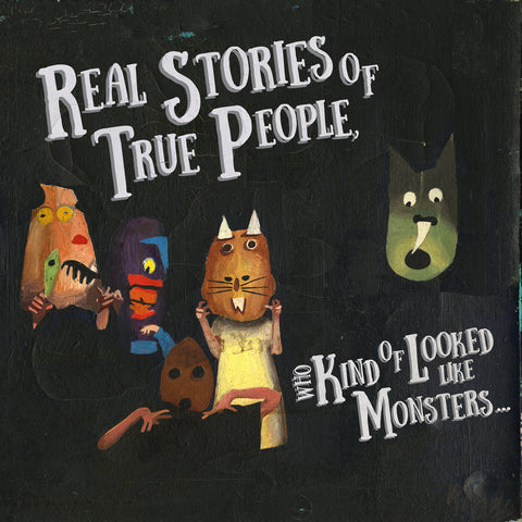 "Oso Oso ""Real Stories of True People Who Kind of Looked Like Monsters"" LP"