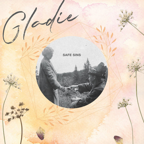 "Gladie ""Safe Sins"" LP (Cream Vinyl)"