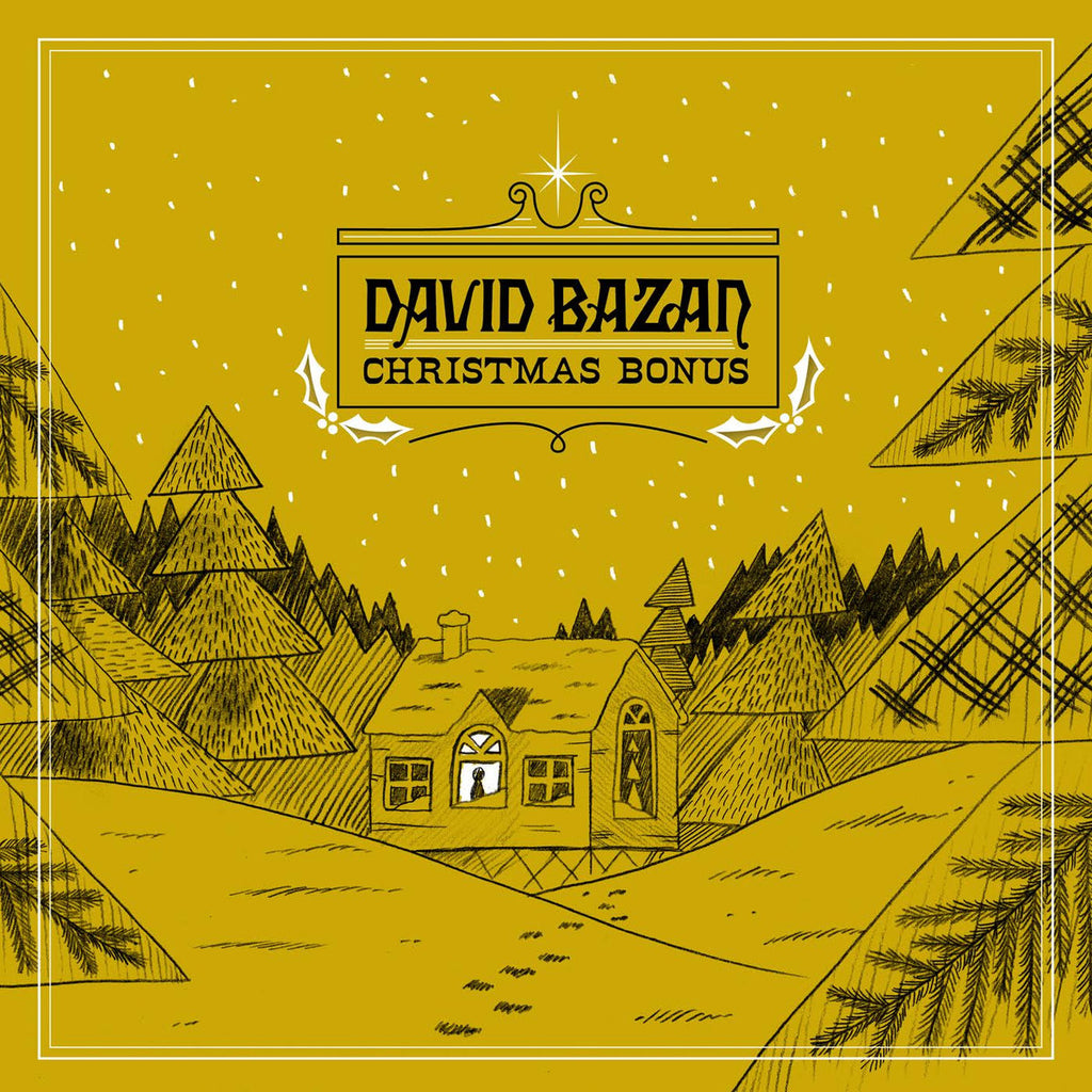 "David Bazan ""Christmas Bonus"" 12"""