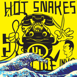 "Hot Snakes ""Suicide Invoice"" Reissue LP (Yellow Vinyl)"