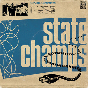 "State Champs ""Unplugged"" LP (Blue in Clear Splatter Vinyl)"