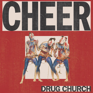 "Drug Church ""Cheer"" LP (Bone / Red + Black Splatter Vinyl)"