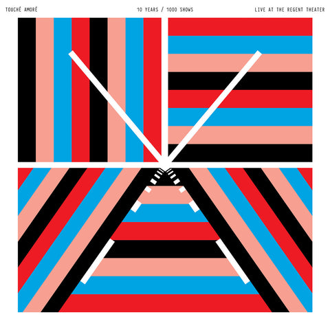 "Touché Amoré ""Live at The Regent Theater"" 2xLP (Red / Blue Vinyl)"