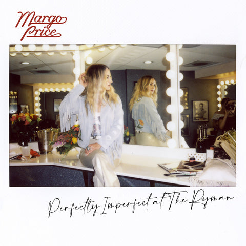 "Margo Price ""Perfectly Imperfect at The Ryman"" 2xLP (Clear + Red Splatter Vinyl)"