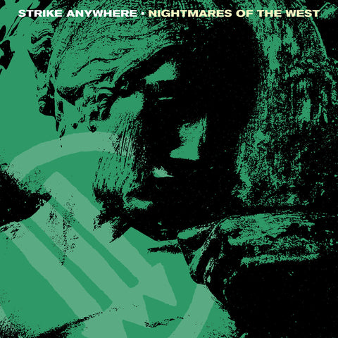 "Strike Anywhere ""Nightmares of the West"" LP (Clear + Mint / Yellow Splatter Vinyl)"