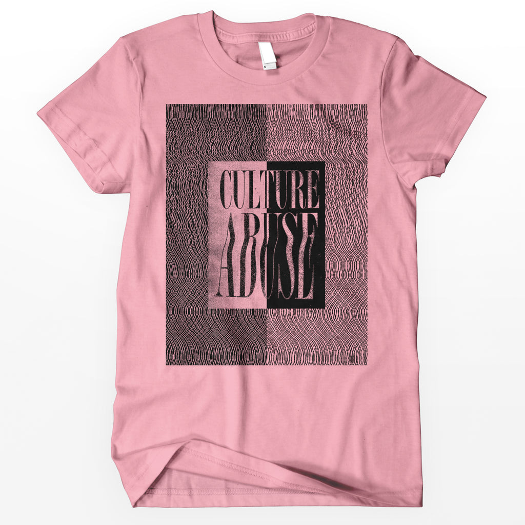 "Culture Abuse ""Lines"" Shirt / Pink"