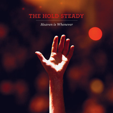 "The Hold Steady ""Heaven is Whenever (Deluxe Anniversary Edition)"" 2xLP (Red/Orange Marble Vinyl)"