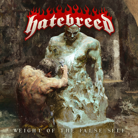 "Hatebreed ""Weight of The False Self"" LP (Bone + Blood Splatter Vinyl)"
