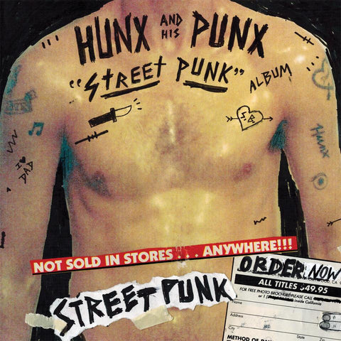 "Hunx and His Punx ""Street Punk"" LP"