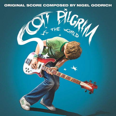 "Various Artists ""Scott Pilgrim vs. The World (Motion Picture Score)"" 2xLP (Blue Vinyl)"