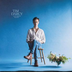 "Tim Darcy ""Saturday Night"" LP (Blue Vinyl)"
