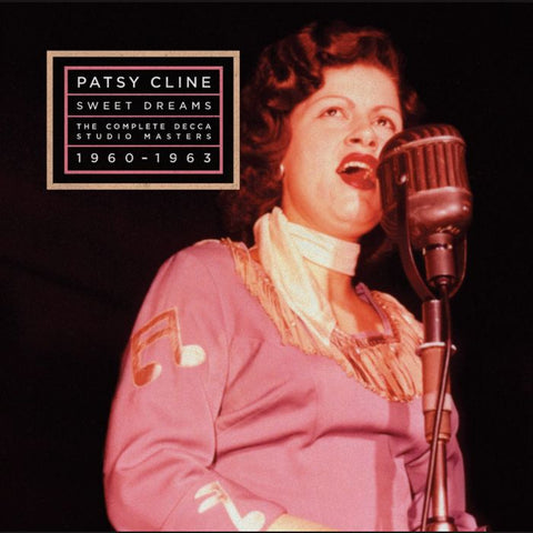 "Patsy Cline ""Sweet Dreams: The Complete Decca Studio Masters 1960 - 1963"" 3xLP"