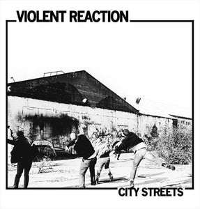 "Violent Reaction ""City Streets"" LP (Blue Vinyl)"