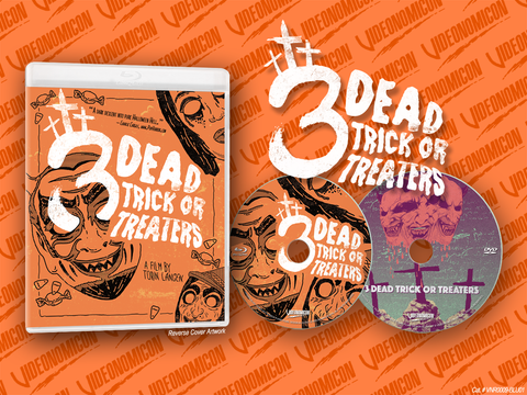 3 Dead Trick or Treaters Blu-ray/DVD Combo