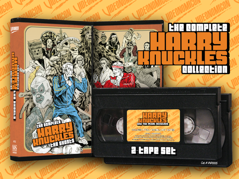 The Complete Harry Knuckles Collection VHS Set