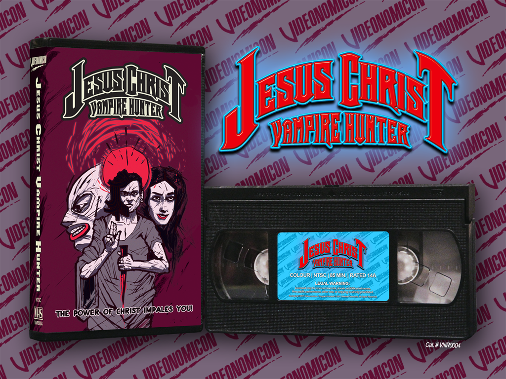 Jesus Christ Vampire Hunter VHS