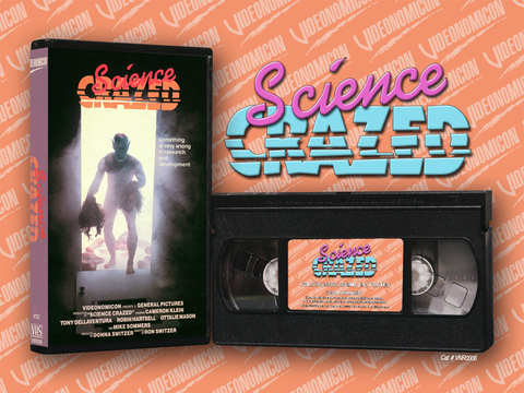 Science Crazed VHS