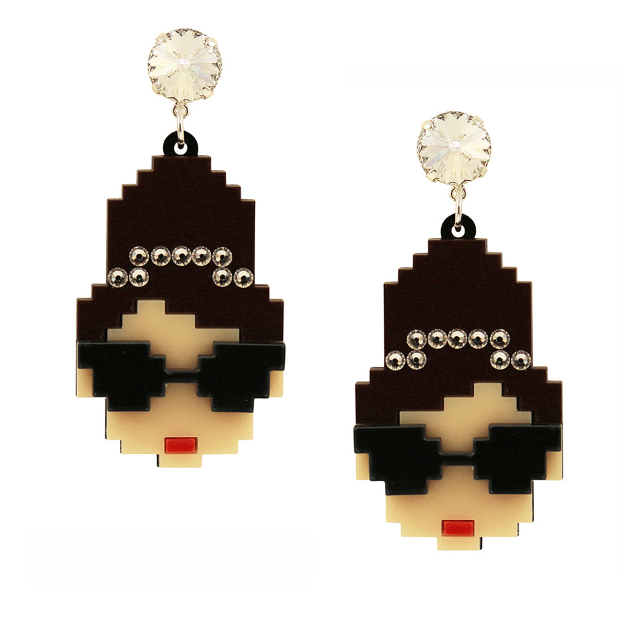Jennifer Loiselle The Refinery Audrey earrings