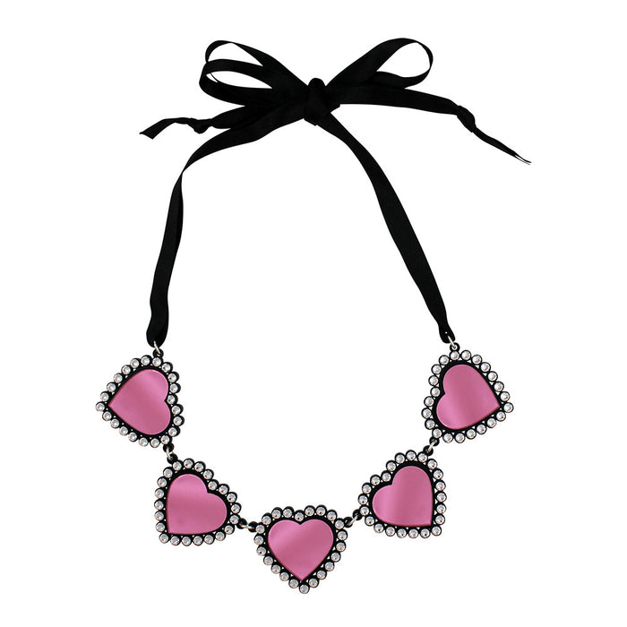 Baby Be Mine Necklace in pink