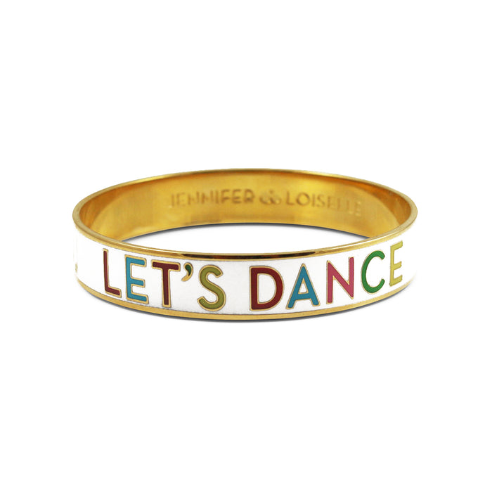 Let's Dance Enamel Bangle