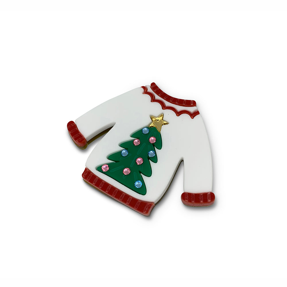 Christmas Jumper Brooch