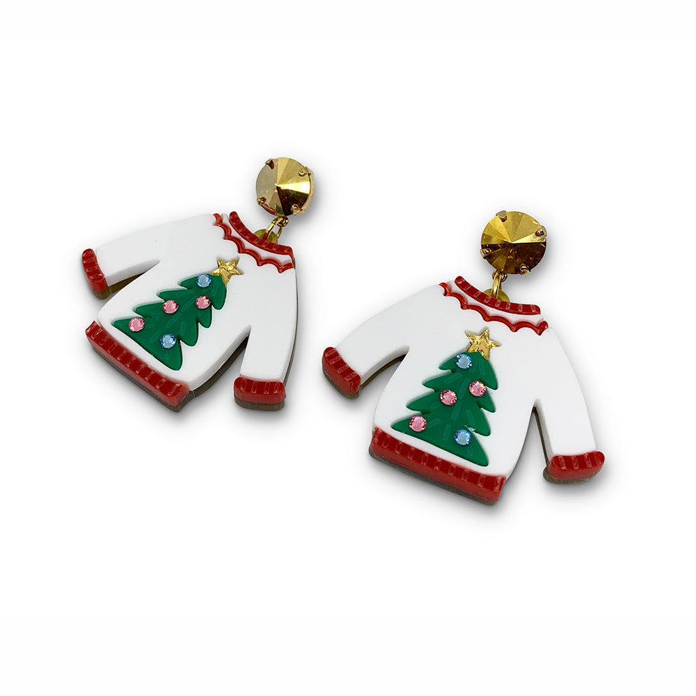 Christmas Jumper Earrings