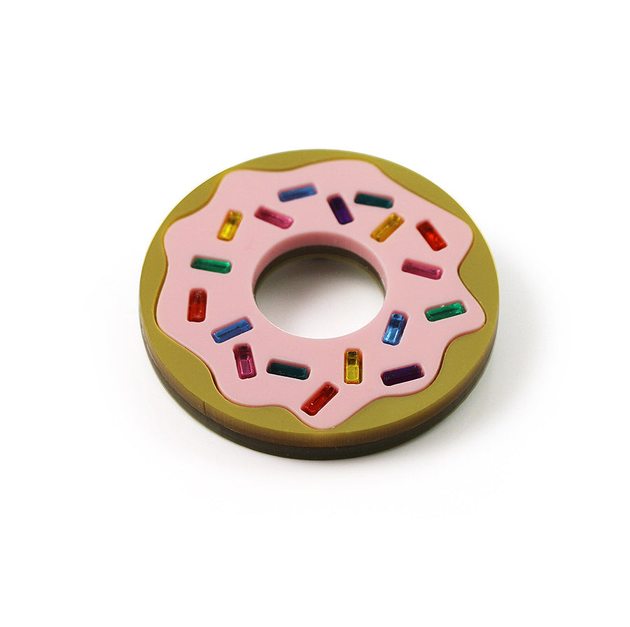Donuts Forever Brooch
