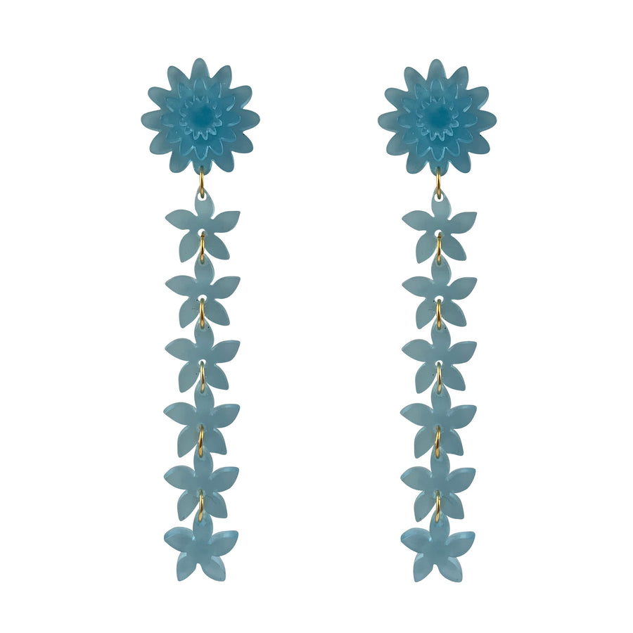 Jennifer Loiselle floral drop earrings