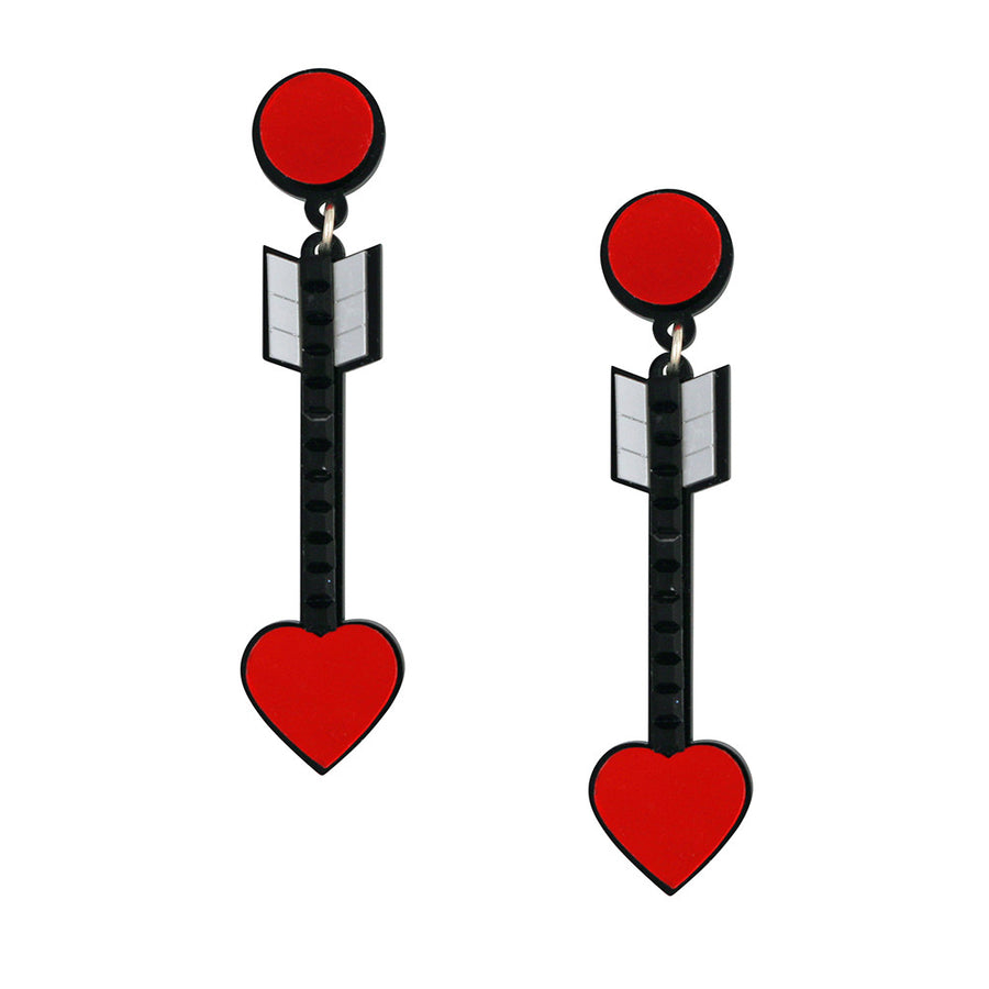 Jennifer Loiselle From the Heart Arrow earrings