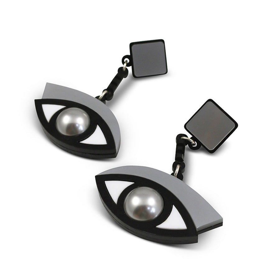 Jennifer Loiselle In the Blink of an Eye Acrylic earrings