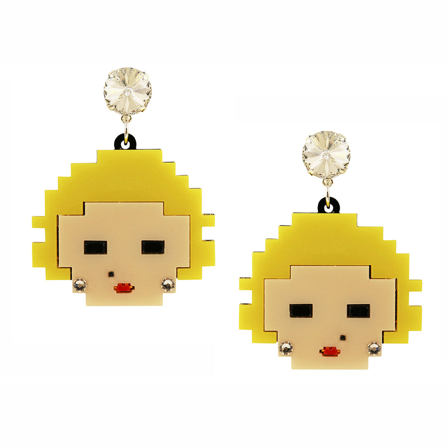 Jennifer Loiselle The Refinery Marilyn earrings