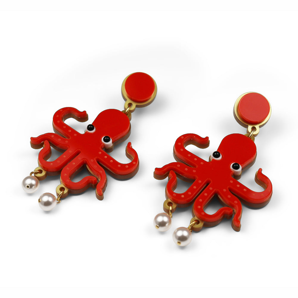 Octopussy Earrings