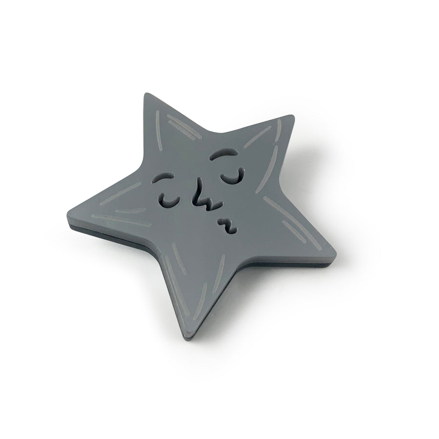 Jennifer Loiselle Star Brooch